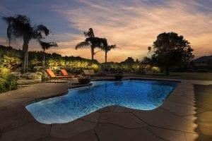 virtual twilight pool